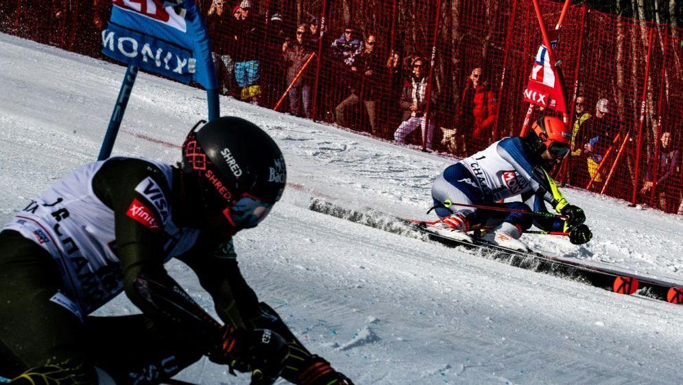 In Lech/Zürs sind die deutschen Läuferinnen gescheitert - Bildquelle: AFPSIDJEFF PACHOUD