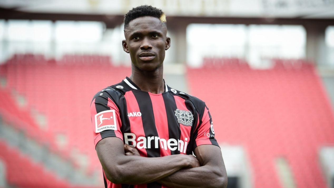 Odilon Kossounou (Bayer 04 Leverkusen)  - Bildquelle: Twitter: @bayer04fussball