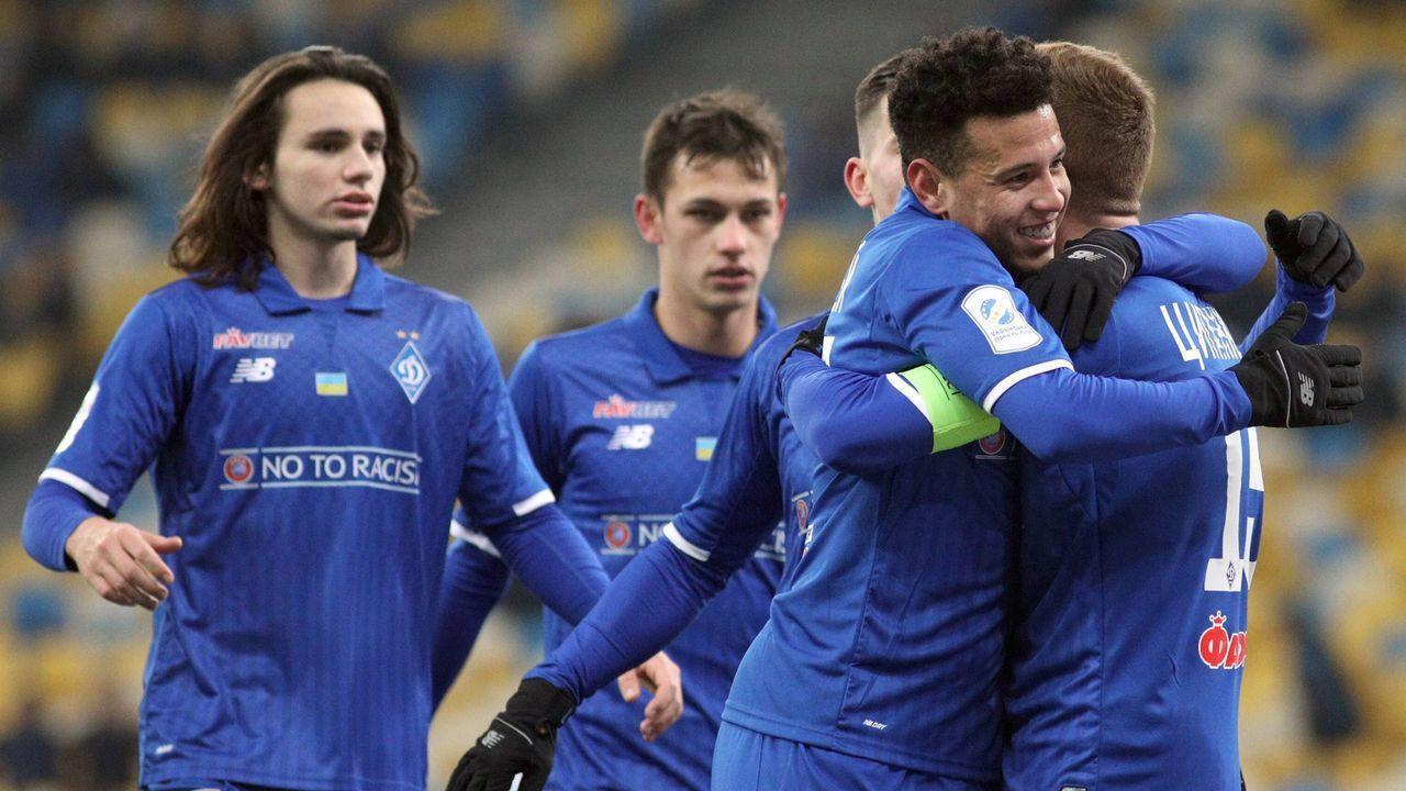 Platz 4: Dynamo Kiew - Bildquelle: imago/Ukrinform