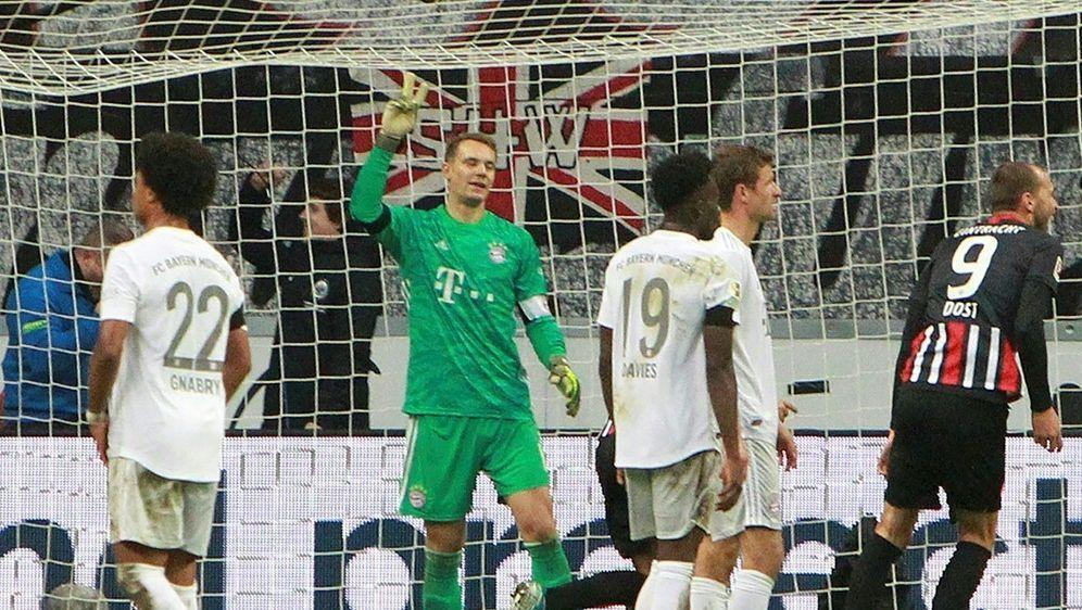 Bayern München geht mit 1:5 in Frankfurt unter - Bildquelle: AFPSIDDANIEL ROLAND