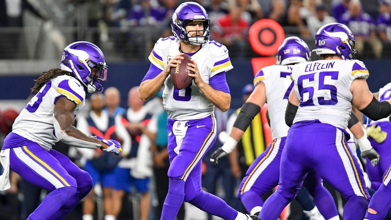 Platz 5: Minnesota Vikings (10-6, letzte Woche Platz 10) - Bildquelle: imago images/ZUMA Press