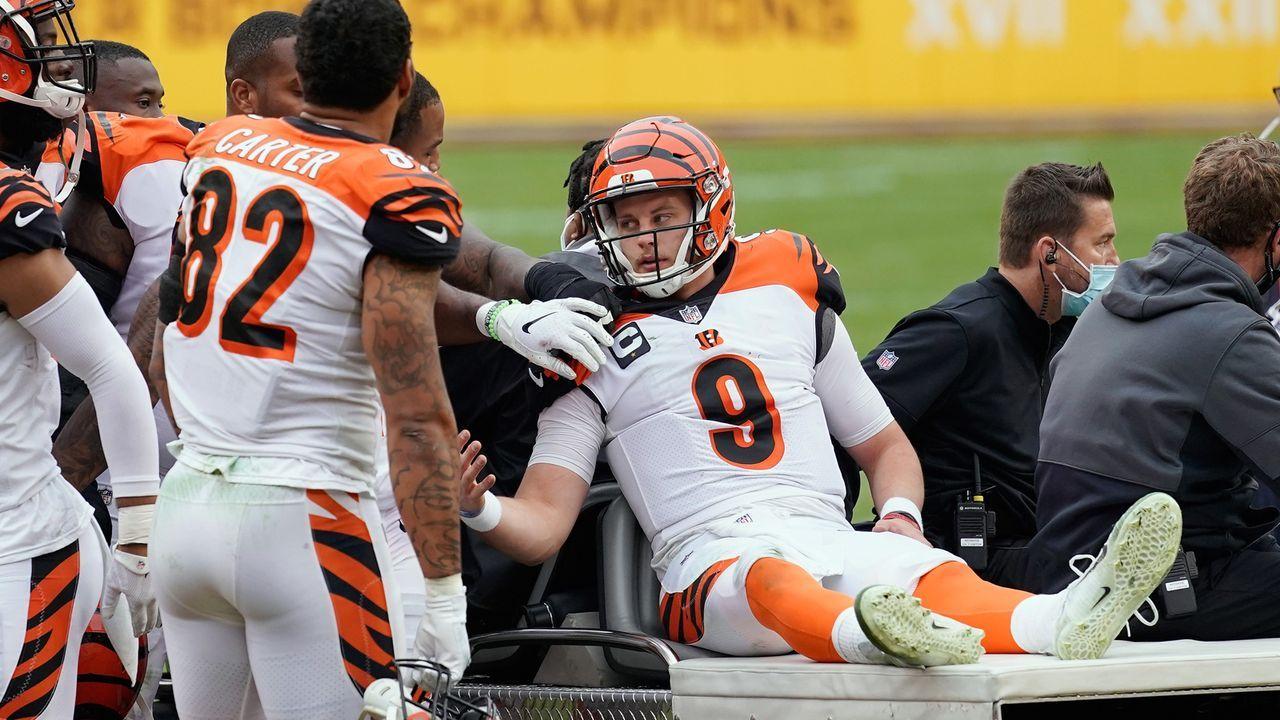 Cincinnati Bengals - Kann Joe Burrow in seinem zweiten Jahr besser beschützt werden?  - Bildquelle: 2020 Getty Images