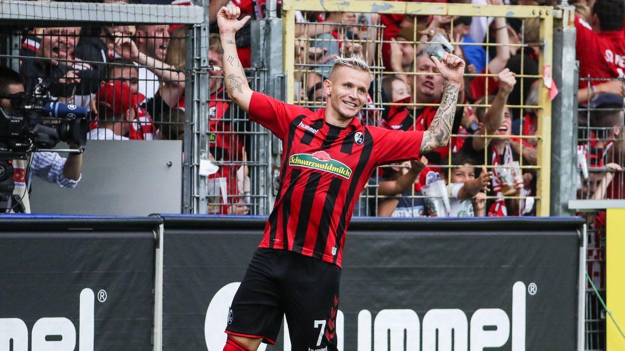 Jonathan Schmid (SC Freiburg) - Bildquelle: imago images / Beautiful Sports