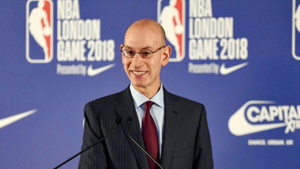 NBA-Boss Adam Silver - Bildquelle: pixathlonpixathlonSID