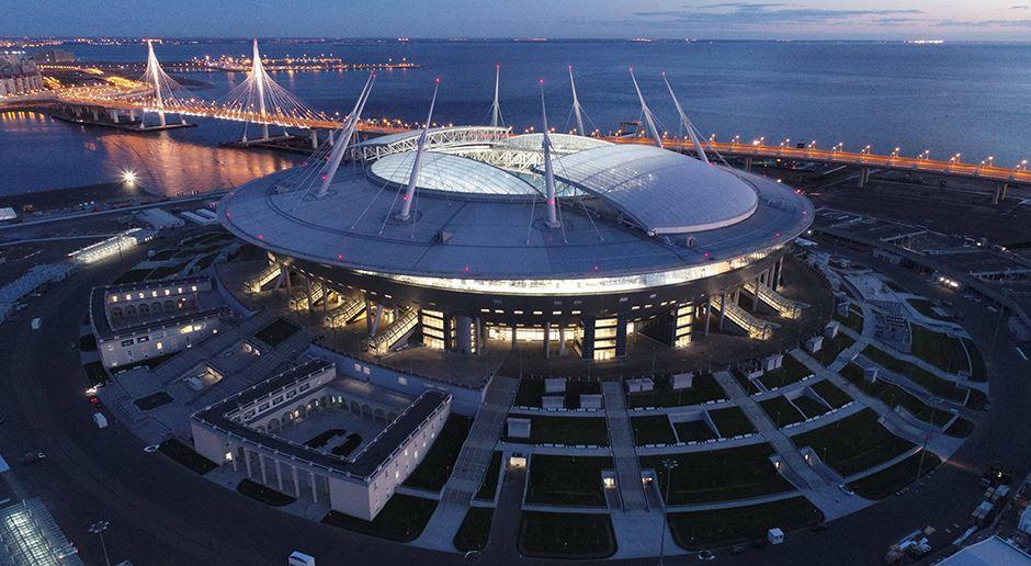 2. Sankt-Petersburg-Stadion (St. Petersburg) - Bildquelle: imago/ITAR-TASS