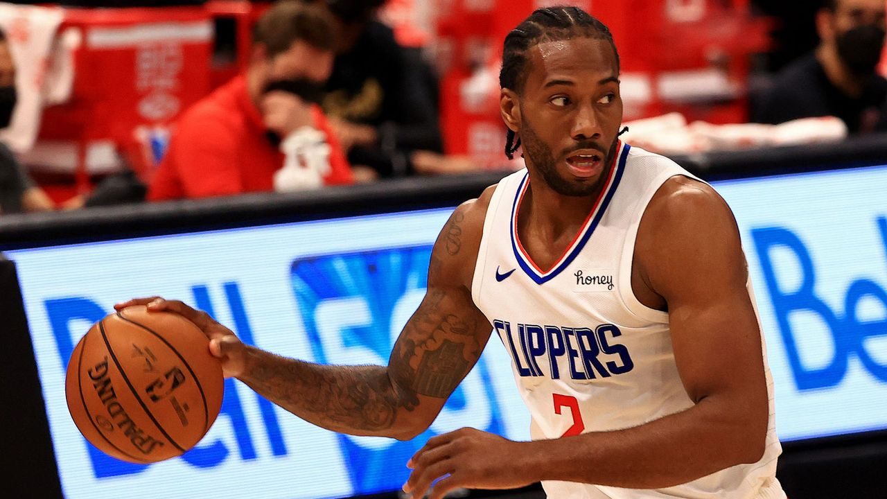 Western Conference - 3. Rang: Los Angeles Clippers - Bildquelle: 2021 Getty Images
