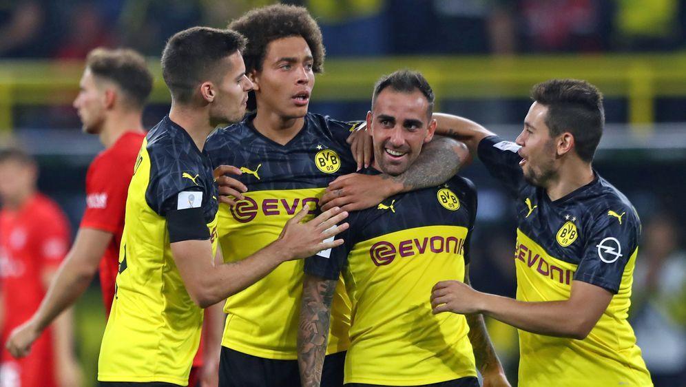 Am ersten Spieltag empfängtBorussia DortmunddenFC Augsburg. Anstoß der Pa... - Bildquelle: Getty Images