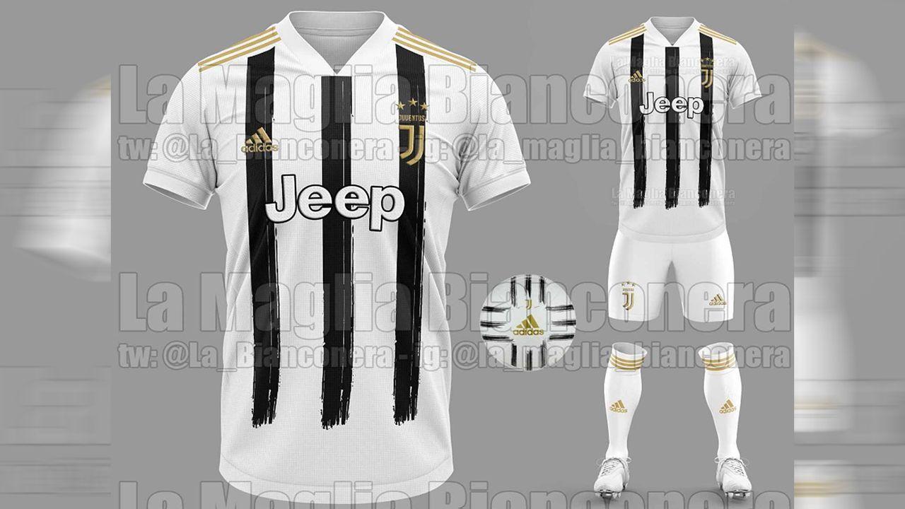 Juventus Turin (Heimtrikot) - Bildquelle: twitter@Footy_Headlines