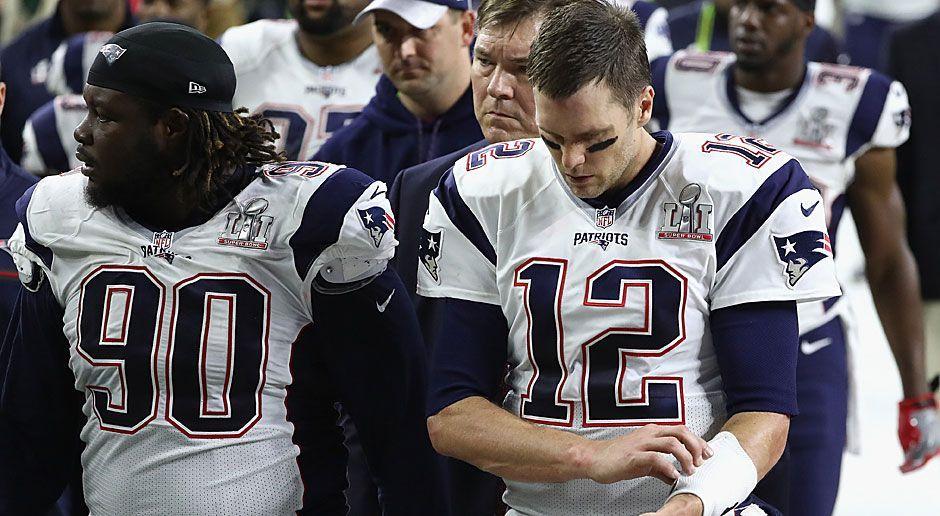 7. neuer Rekord: Super-Bowl-Sieger nach dem höchsten Rückstand - Bildquelle: 2017 Getty Images