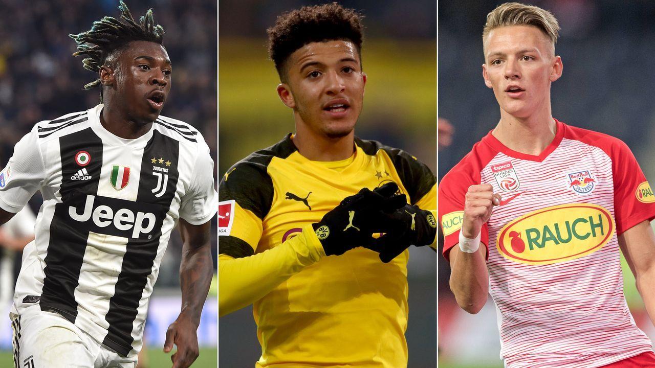 Die Topscorer unter den Teenagern der Top-15-Ligen Europas - Bildquelle: Getty Images/Imago
