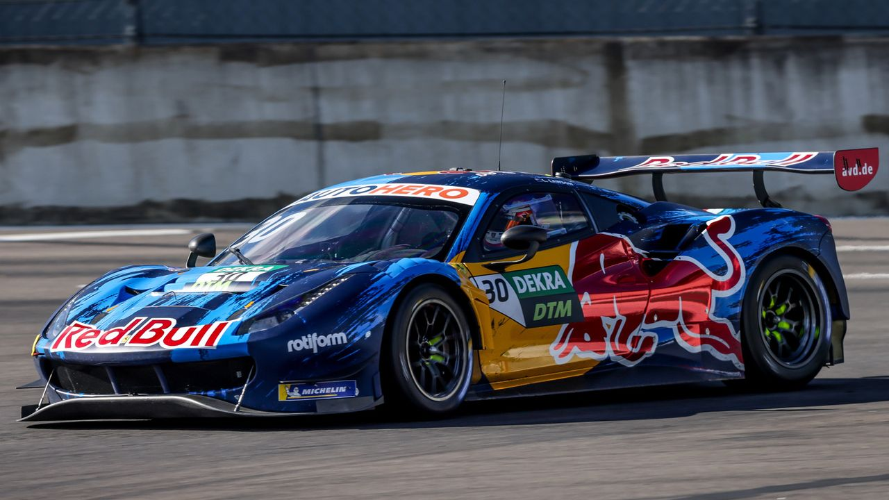 Red Bull AF Corse (Liam Lawson) - Bildquelle: Gruppe C GmbH