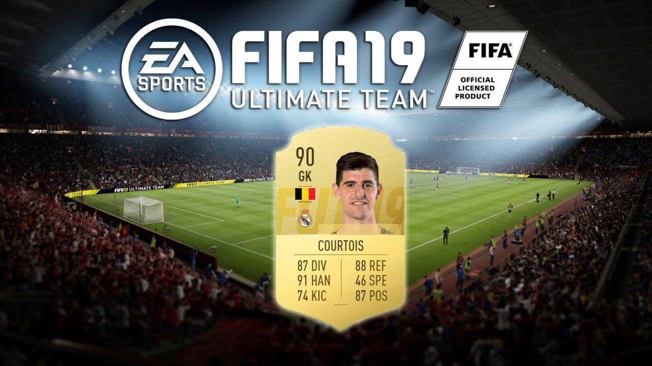 Platz 8: Thibaut Courtois (Real Madrid) - Bildquelle: EA Sports
