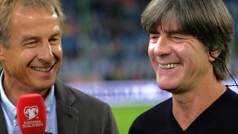 Klinsmann traut der DFB-Elf bei der EM einiges zu - Bildquelle: AFPSIDPATRIK STOLLARZ