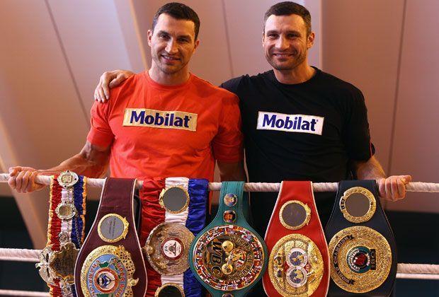 Wladimir und Vitali Klitschko - Bildquelle: Getty