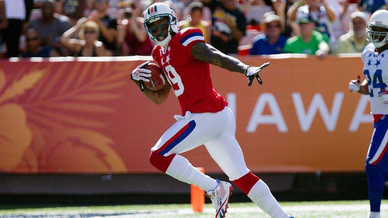 Touchdowns in einem Spiel: 4 - Bildquelle: 2012 Getty Images