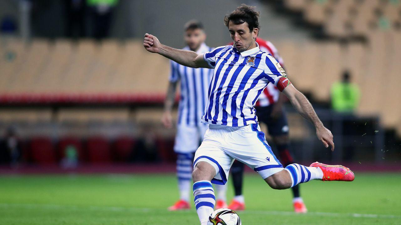 Mikel Oyarzabal (Spanien/Real Sociedad) - Bildquelle: 2021 Getty Images