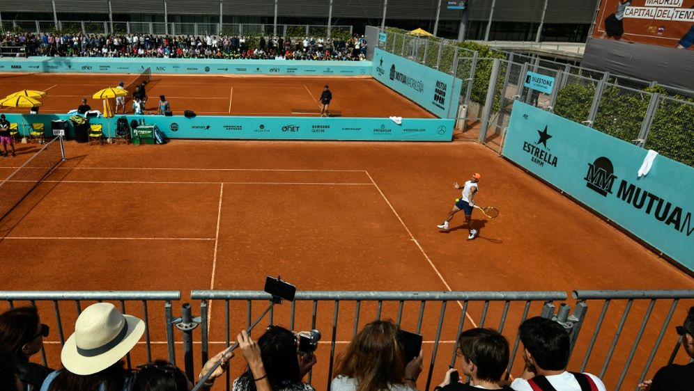 Tennis-Masters in Madrid vor Absage - Bildquelle: AFPSIDOSCAR DEL POZO