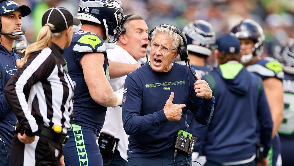 """Kein Fan der neuen """"Taunting-Regel"""": Pete Carroll - Bildquelle: Getty Images"""