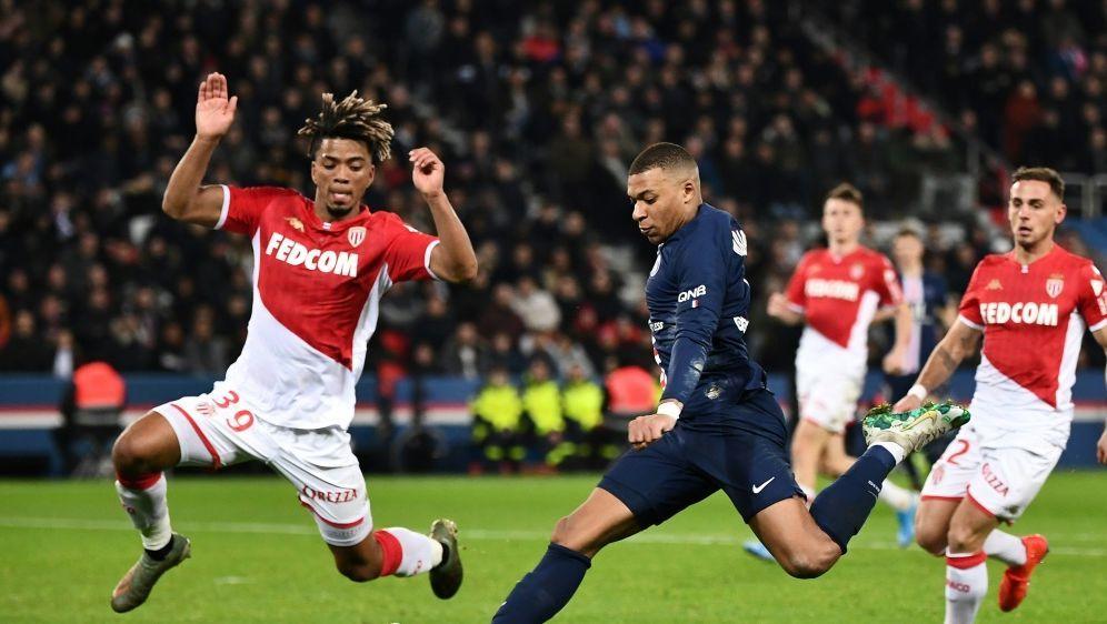 Sechs Tore, kein Sieger: Primus PSG patzt gegen Monaco - Bildquelle: AFPAFPAnne-Christine POUJOULAT