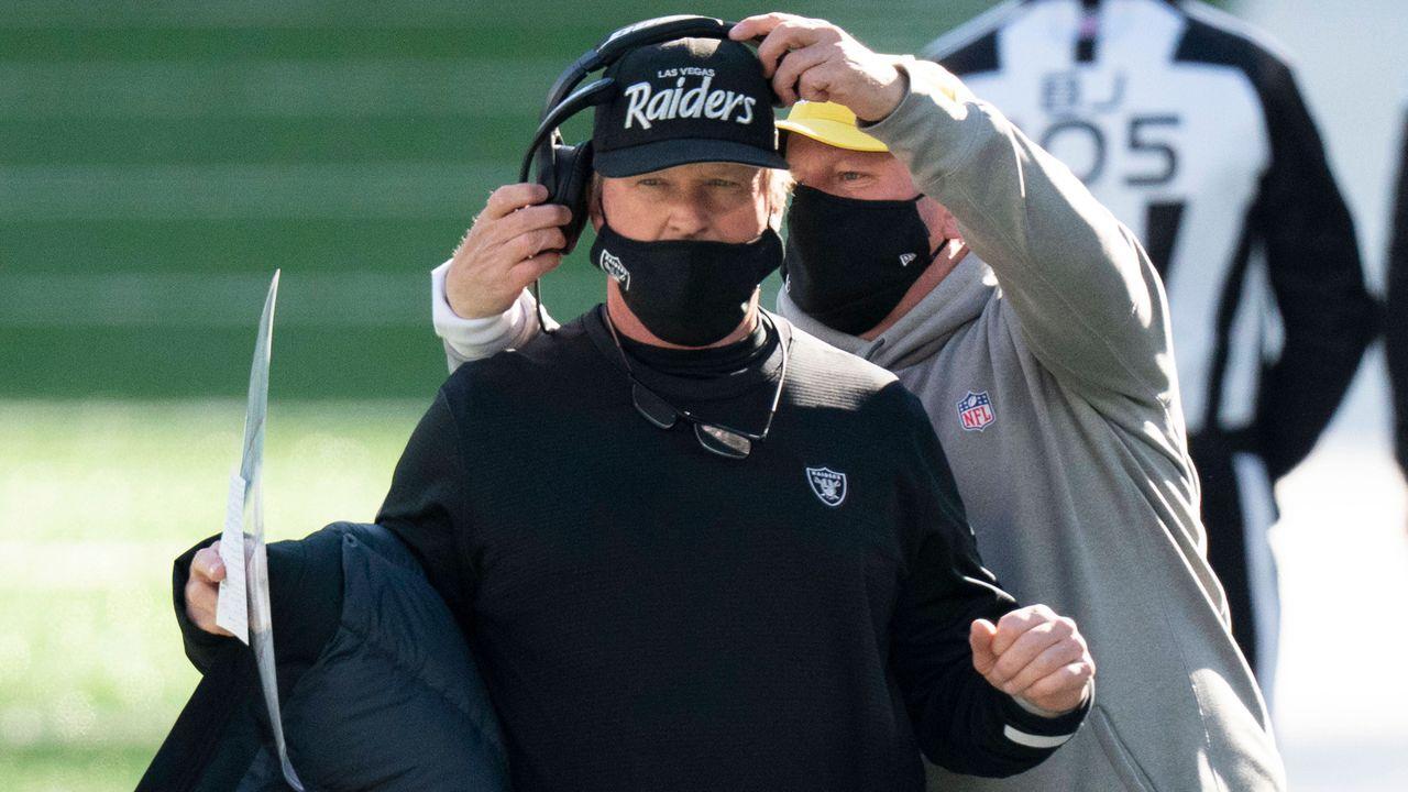 Las Vegas Raiders - Wann offenbart sich der Plan von Jon Gruden?  - Bildquelle: imago images/ZUMA Wire