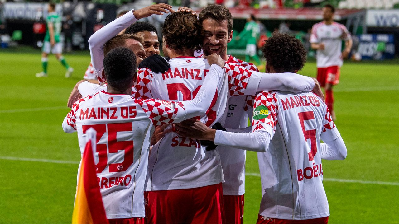 1. FSV Mainz 05 - 13. Platz, 31 Punkte - Bildquelle: Imago Images