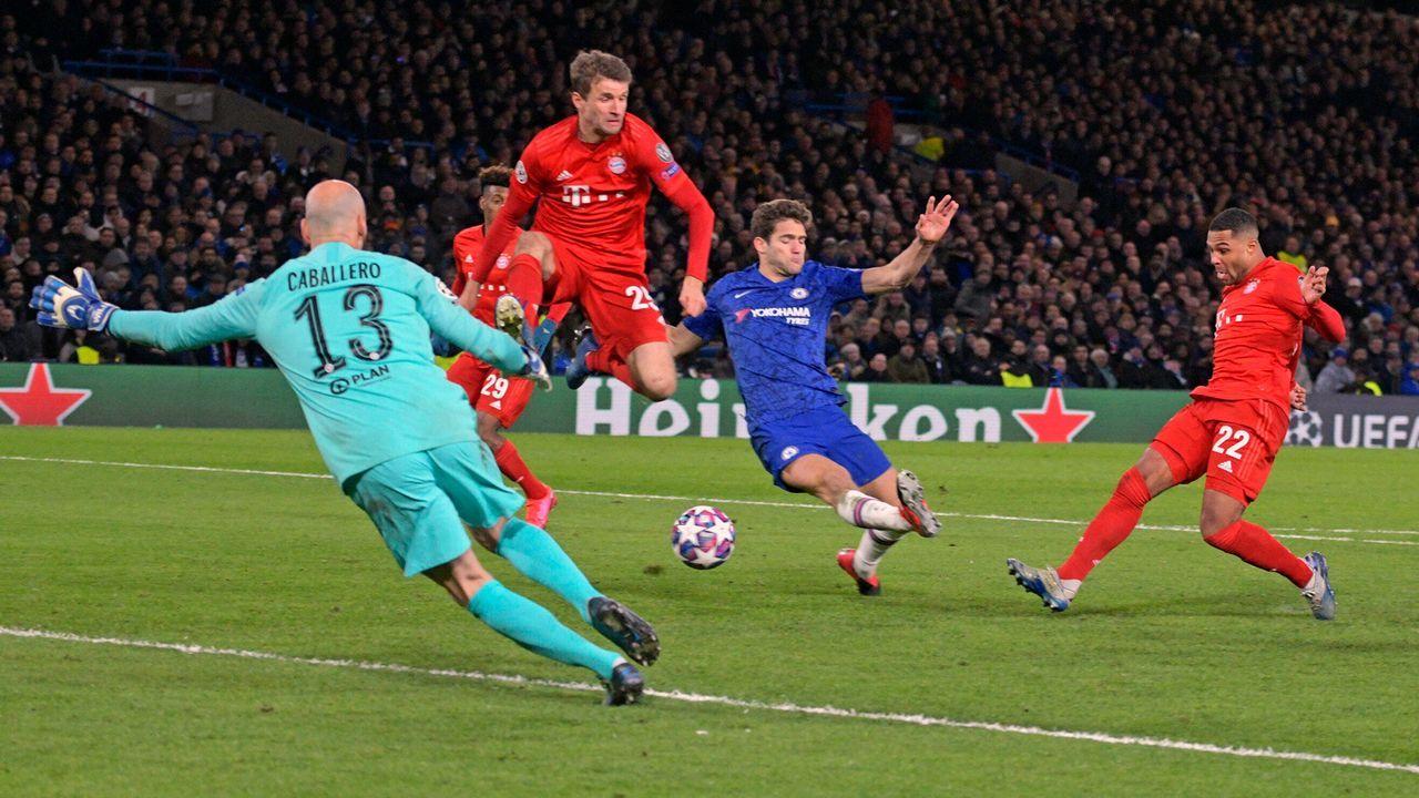 Achtelfinal-Hinspiel beim FC Chelsea: Die Stars des FC Bayern München in der Einzelkritik - Bildquelle: Imago