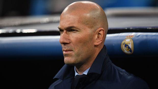 Zinedine Zidane (Real Madrid) - Bildquelle: 2018 Getty Images