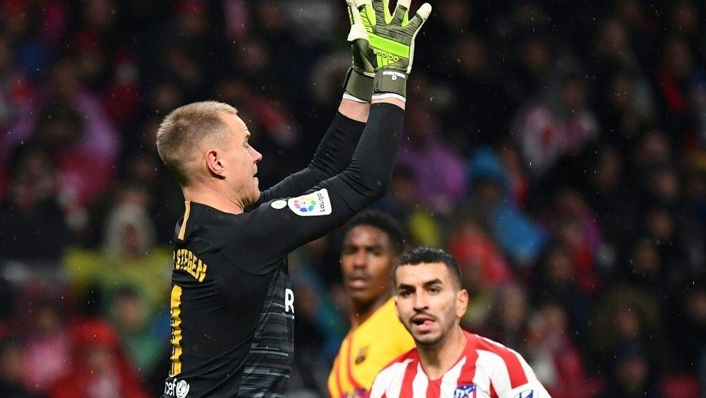 Ter Stegen zeigte gegen Atletico eine Top-Leistung - Bildquelle: AFPSIDGABRIEL BOUYS