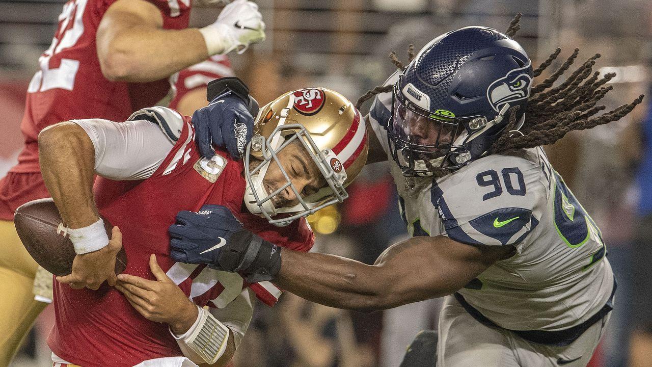Gewinner: Defense der Seahawks - Bildquelle: imago