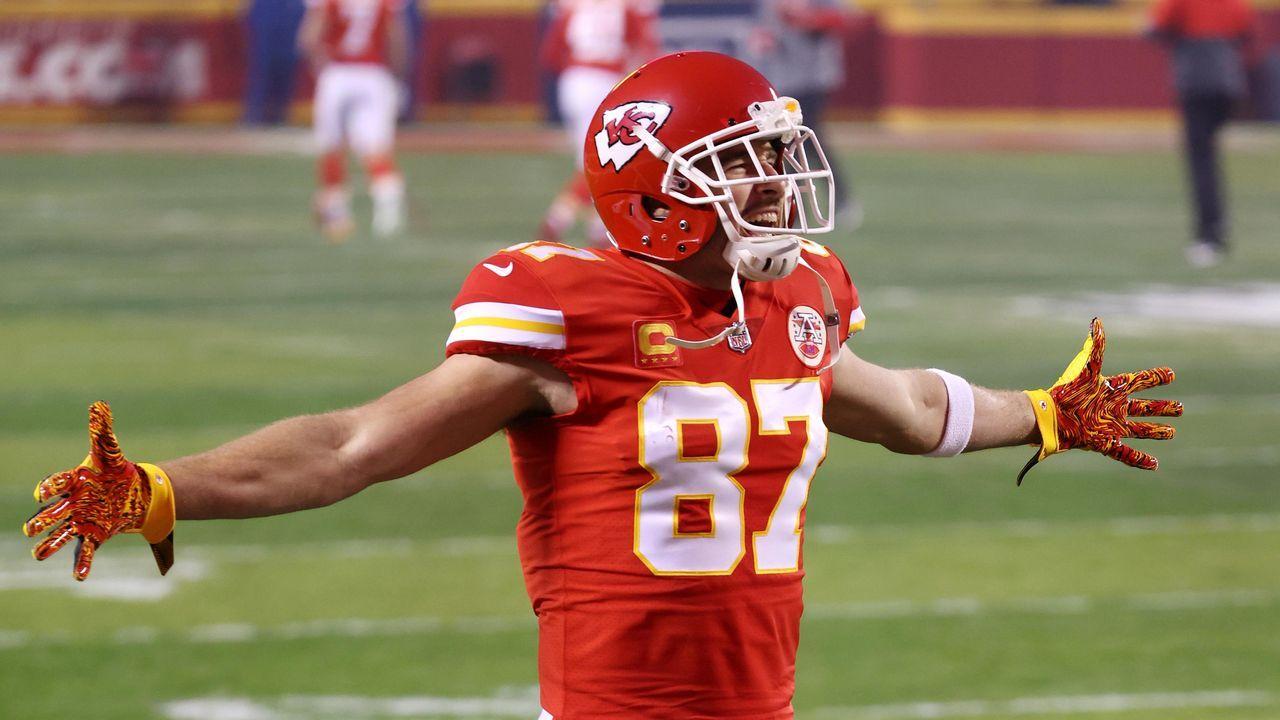 Platz 1: Travis Kelce (Kansas City Chiefs) - Bildquelle: 2021 Getty Images