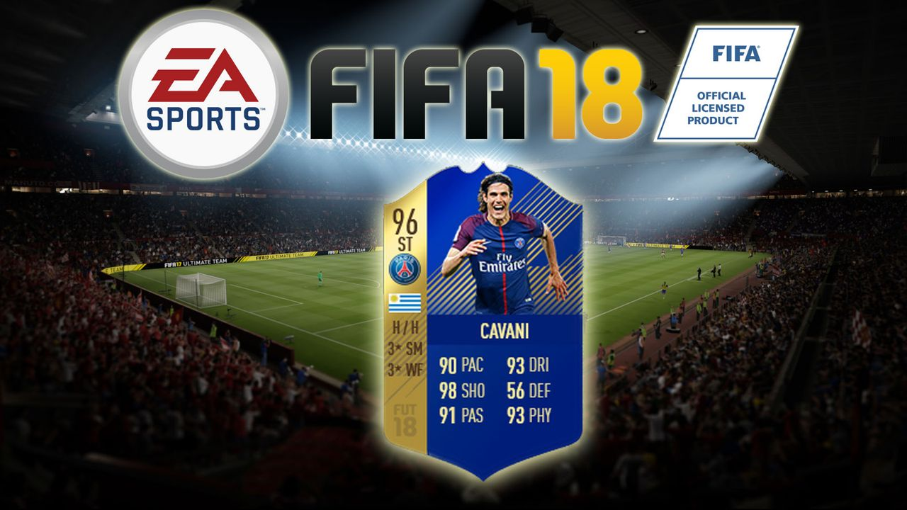 Edinson Cavani - Bildquelle: EA Sports