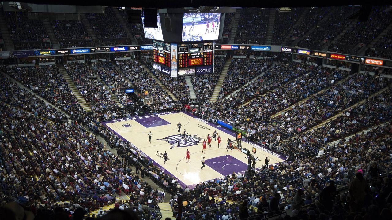 10. Platz: Sleep Train Arena, Sacramento - Bildquelle: imago/ZUMA Press