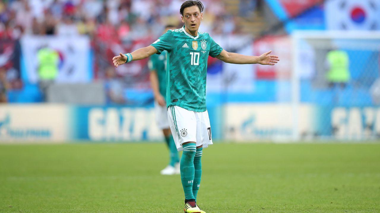 Verlierer: Mesut Özil - Bildquelle: 2018 Getty Images