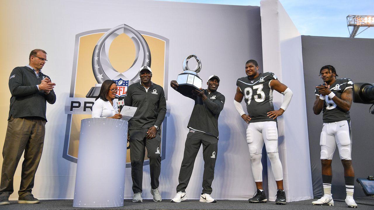 Pro Bowl 2021: Diese Spieler aus der AFC und NFC haben bisher die meisten Stimmen - Bildquelle: 2020 Getty Images