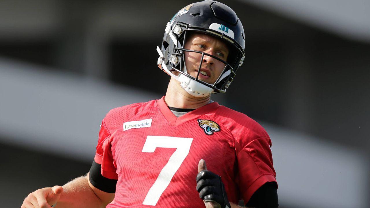5. Nick Foles (Jacksonville Jaguars) - Bildquelle: imago images / Icon SMI