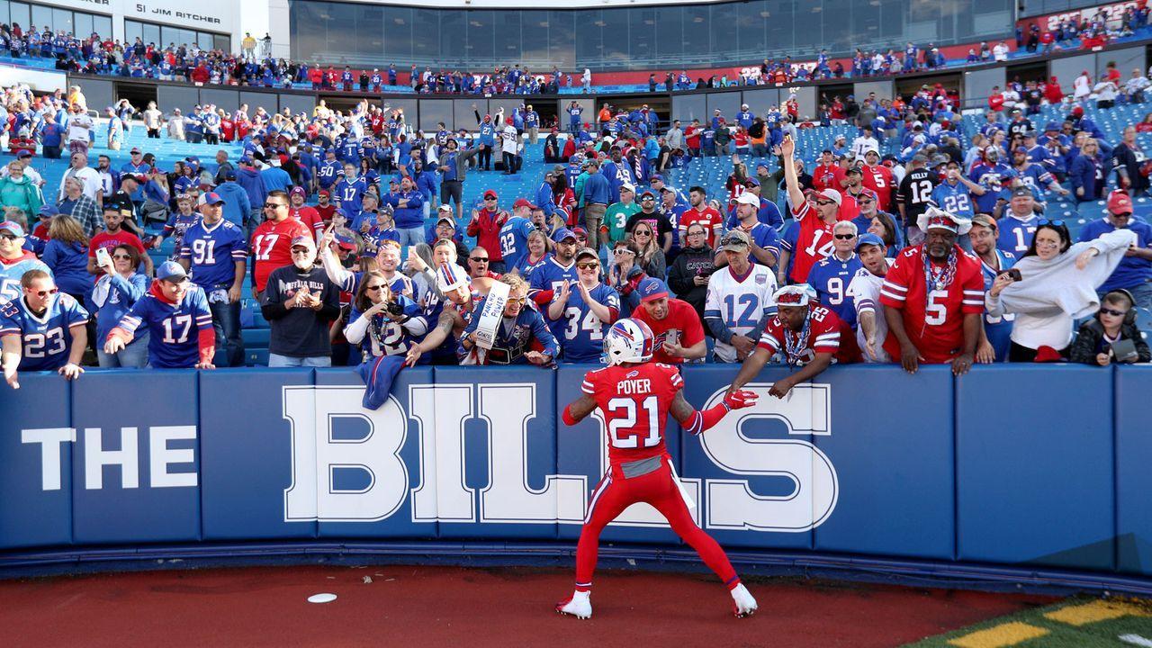 """""""Volles"""" Haus in Buffalo: Playoff-Spiel der Bills in wenigen Stunden ausverkauft - Bildquelle: 2019 Getty Images"""
