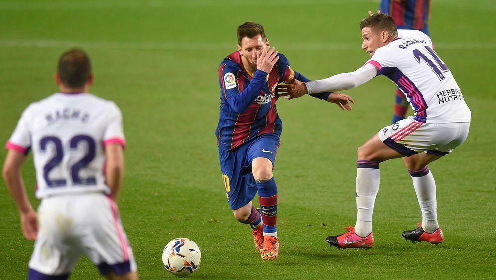 Rekordspieler Messi ausnahmsweise ohne Torbeteiligung - Bildquelle: Imago