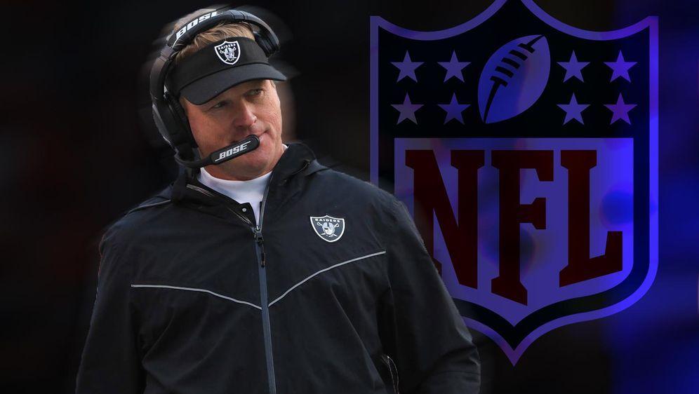 Jon Gruden ist als Head Coach der Las Vegas Raiders zurückgetreten - Bildquelle: getty/ran.de