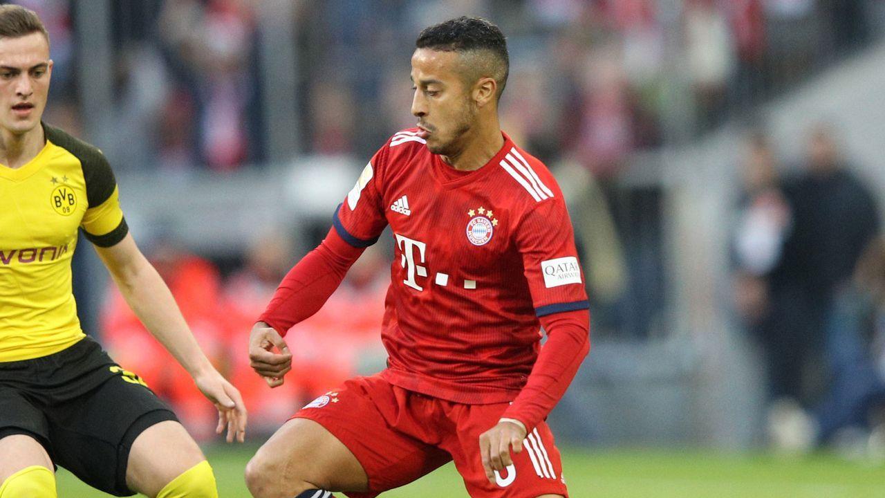 Thiago (FC Bayern) - Bildquelle: Getty 2019