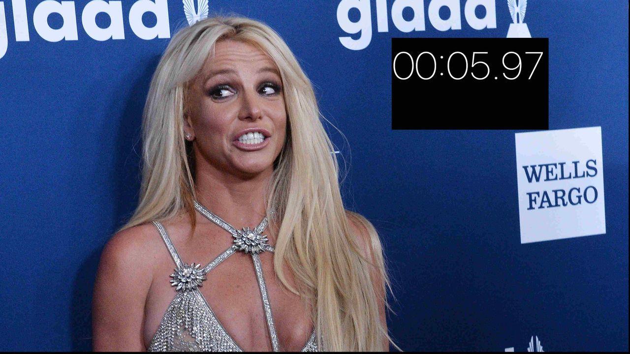 Brach Britney Spears den 100-Meter-Weltrekord? - Bildquelle: imago images / Instagram