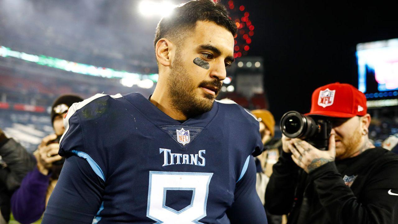 Marcus Mariota (Tennessee Titans) - Bildquelle: 2018 Getty Images