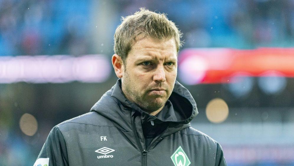 Erneut kein Sieg für Werder und Trainer Kohfeldt - Bildquelle: AFPSIDROBERT MICHAEL