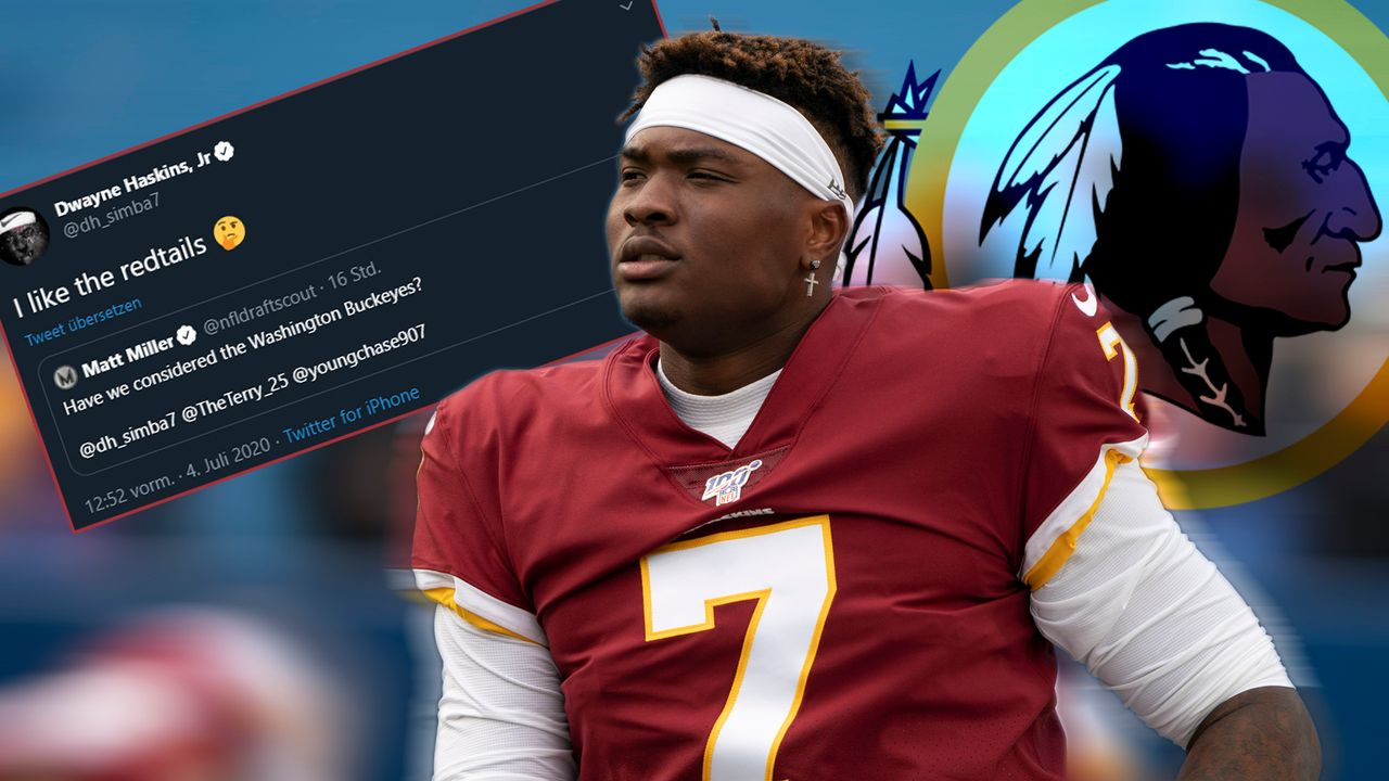 Neuer Redskins-Name: Haskins hat einen Favoriten - Bildquelle: imago images/Icon SMI