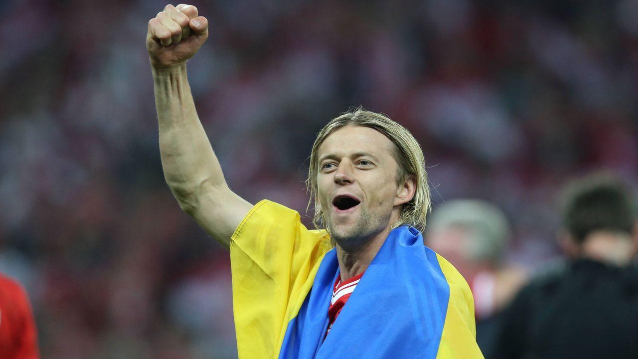 Platz 10: Anatoliy Tymoshchuk (Ukraine) - Bildquelle: imago sportfotodienst