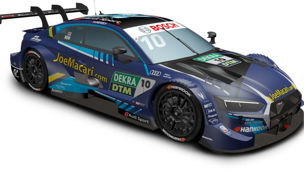 Harrison Newey (WRT Team Audi Sport) - Bildquelle: DTM