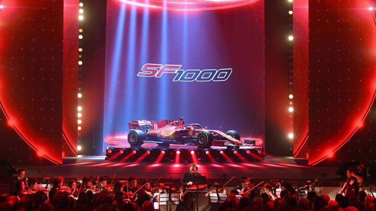 Ferrari SF1000 - Bildquelle: Twitter @ScuderiaFerrari
