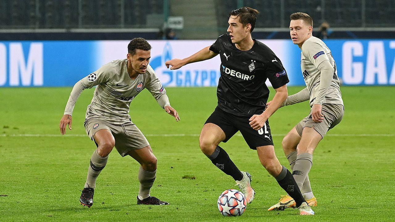 Mittelfeld: Florian Neuhaus (Borussia Mönchengladbach) - Bildquelle: imago images/Ulrich Hufnagel