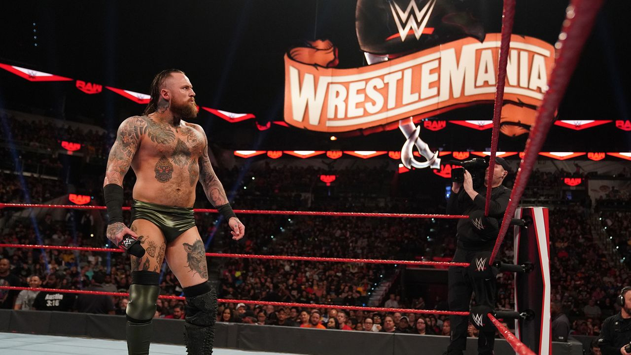 Aleister Black vs. Bobby Lashley (with Lana) - Bildquelle: WWE/craig ambrosio