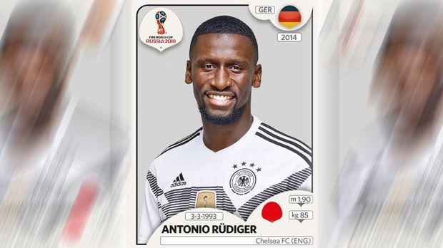 Antonio Rüdiger (FC Chelsea) - Bildquelle: Panini