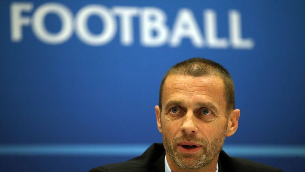 UEFA-Präsident Aleksander Ceferi möchte bei der Europameisterschaft keine Ge... - Bildquelle: imago images/PA Images
